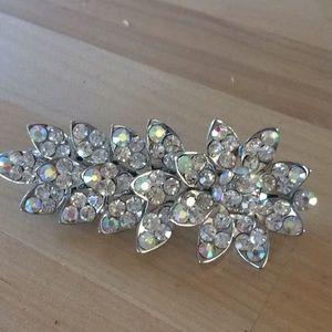 Jeweled barrette